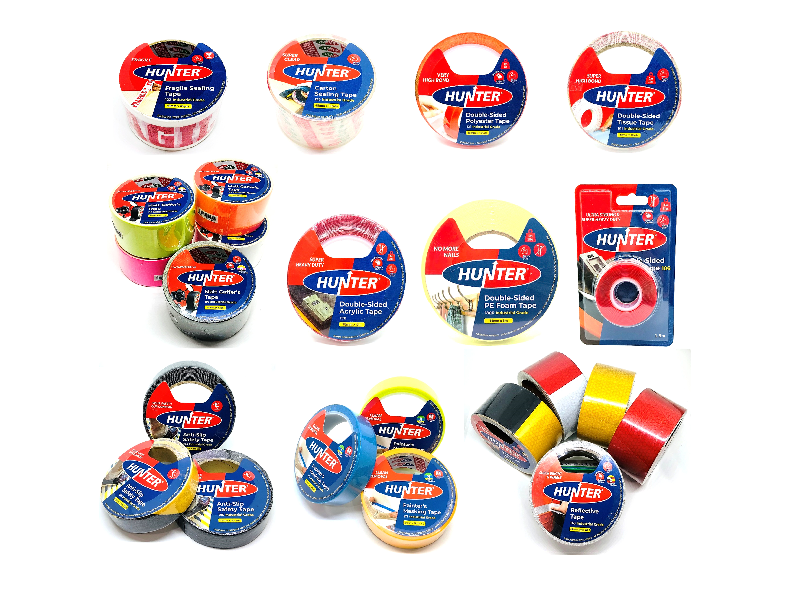 DIY Adhesive Tape Products (Hunter) - website