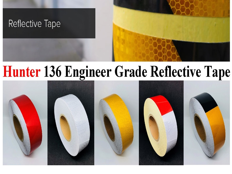 Reflective Tape 136 Engr Grade (Hunter)